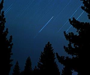 dark, grunge, and shooting star image