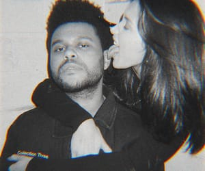 bella hadid, couple, and the weeknd image