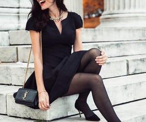 fashion, heels, and lbd image