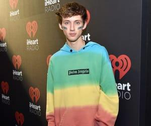 blue, hoodie, and rainbow image