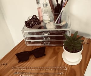 cactus, room, and makeup products image