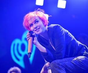 blue, concert, and paramore image