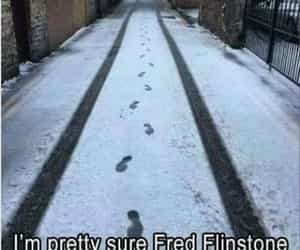 footprints, funny, and funny shite image
