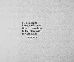 quotes, aesthetic, and alone image