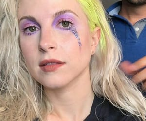 glitter, purple, and hayley williams image