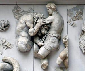 mythology, statue, and greek god image