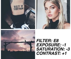 edit, filter, and inspo image