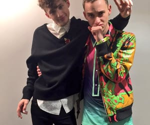 hug, singer, and years & years image
