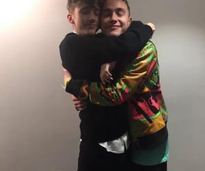 hug, years & years, and troye sivan image