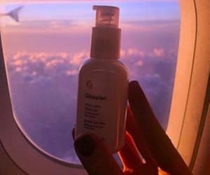 clouds, healthy, and travel image