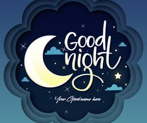 gn sweet dreams with name image