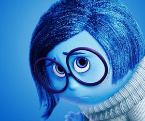 blue, inside out, and sadness image