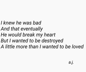 bad boy, heartbreak, and poems image