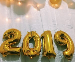 new year, reveillon, and 2019 image