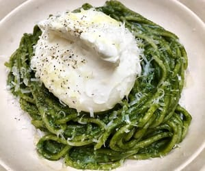 pasta, spaghetti, and vegetarian image