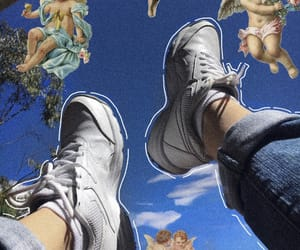 aesthetic, shoes, and angel image