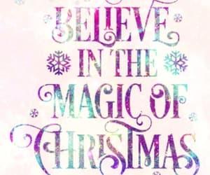 art, snowflakes, and christmas is magic image