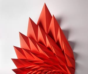 geometric art and satisfying image