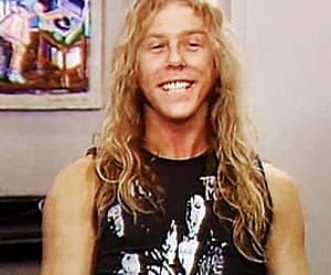 gif, James Hetfield, and metal music image