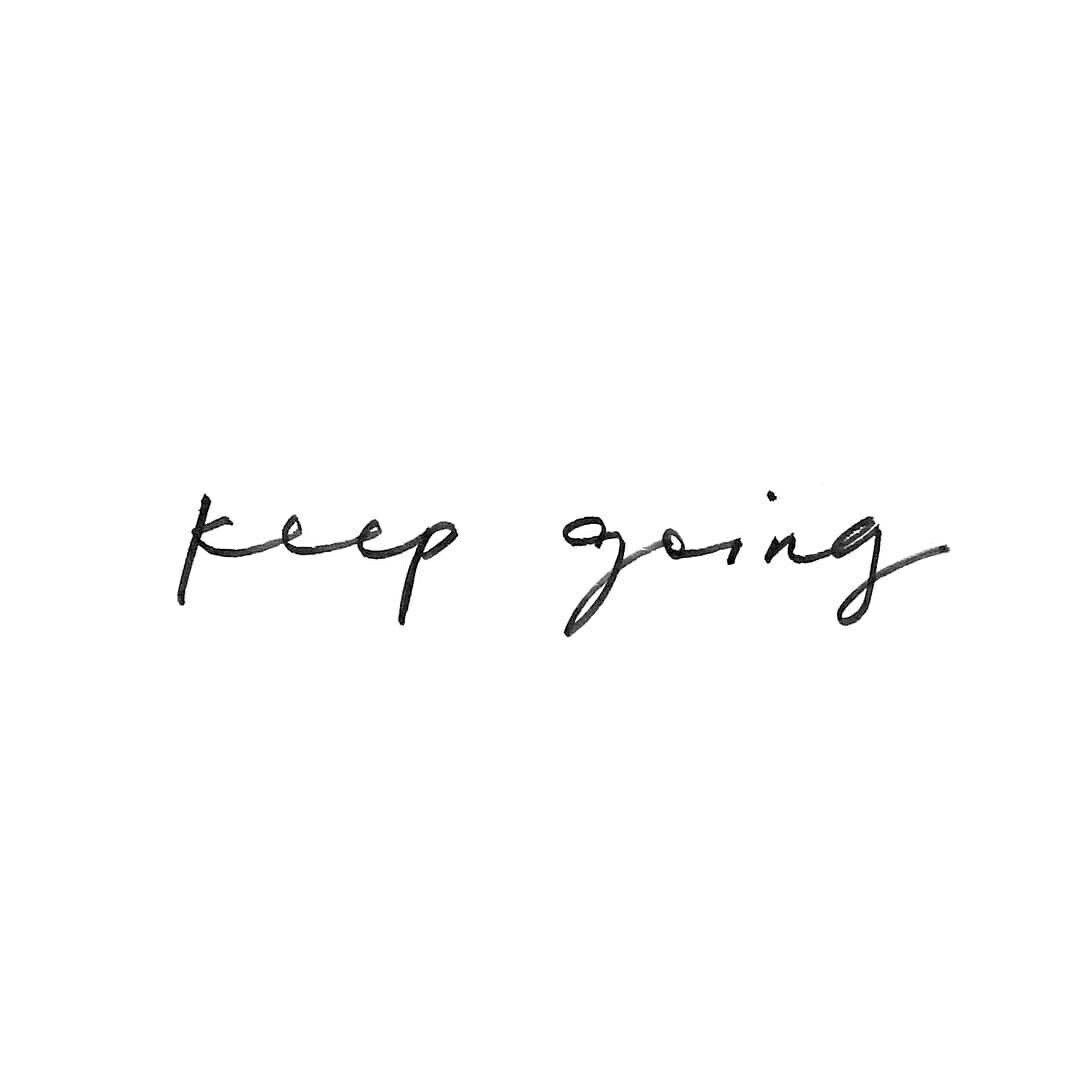 quotes, motivation, and keep going image