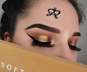 artist, eyeshadow, and girls image