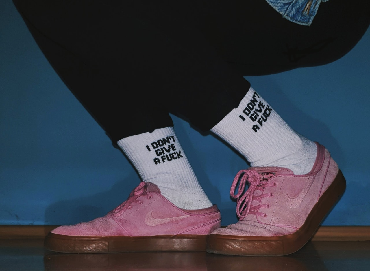 socks, alternative, and clothes image