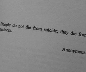 quote, sadness, and suicide image