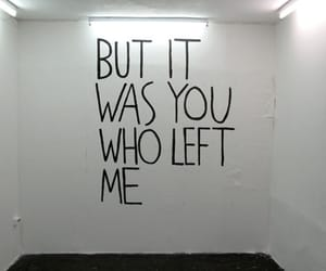 left, you, and me image