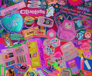00s, 90s, and pink image