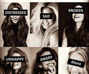 girls, angry, and girl power image