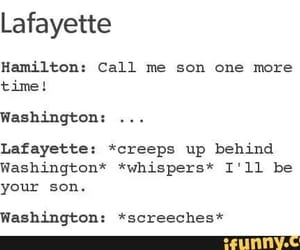 funny, hamilton, and relatable image