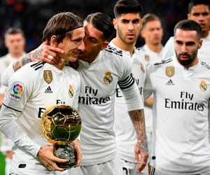 real madrid, sergio ramos, and luka modric image