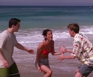 beach, chandler, and Joey image