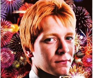 ginger hair, phelps, and weasley twins image