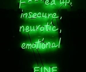 neon, quotes, and alternative image