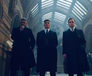 Birmingham, brothers, and peaky blinders image