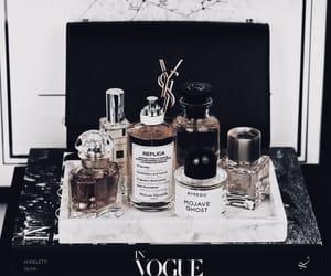 books, perfume, and skincare image