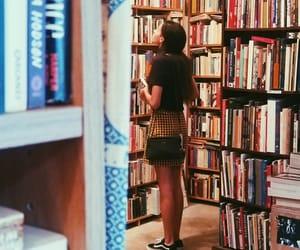 beauty, books, and fashion image