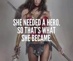 quotes, wonder woman, and feminism image