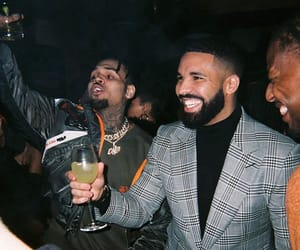 chris brown, chrisbrownofficial, and Drake image