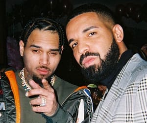 chris brown and Drake image