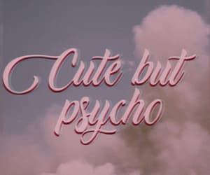 cute, Psycho, and aesthetic image