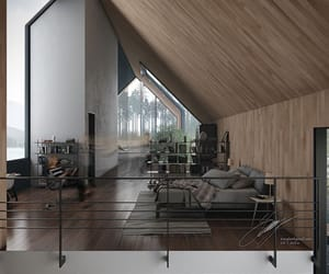 home, house, and wood image