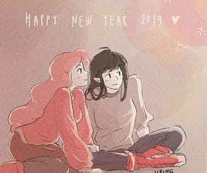 happy new year, marceline, and aventure time image