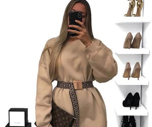 beige, fashion, and outfit image