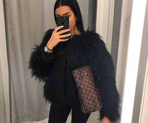 fur, outfit, and ootd image