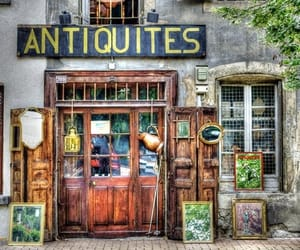 antiques, facade, and shop image