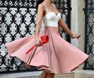 homecoming dress short, blush homecoming dress, and prom dresses a-line image