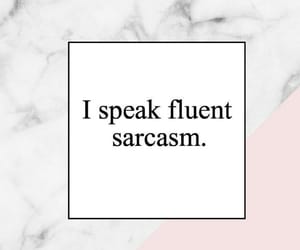 sarcasm, frases, and tumblr image