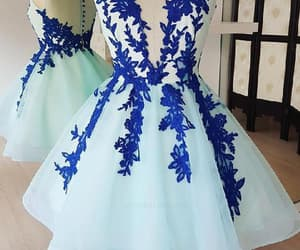lace homecoming dresses, homecoming dresses short, and homecoming dresses blue image